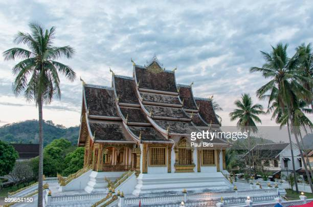 Wat Xieng Thong temple  in Luang Praban, Laos