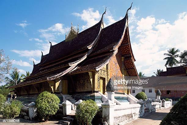 Wat Xieng Thong Temple, Luang Prabang, Laos, Indochina