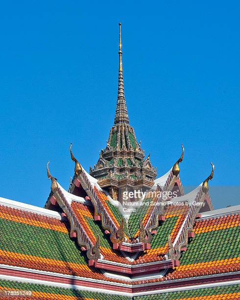 wat yannawa gallery corner - wat stock pictures, royalty-free photos & images