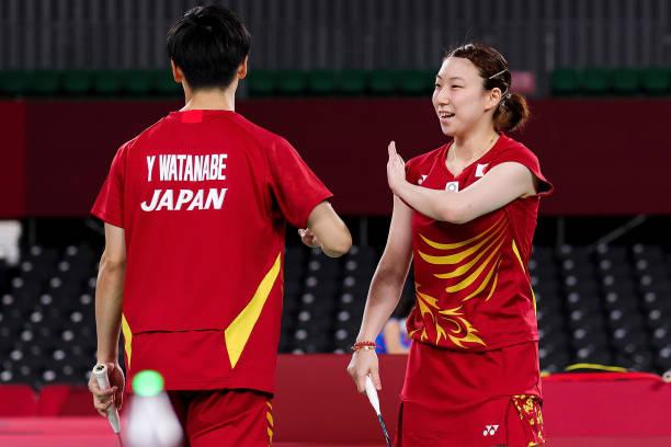 JPN: Badminton - Olympics: Day 1