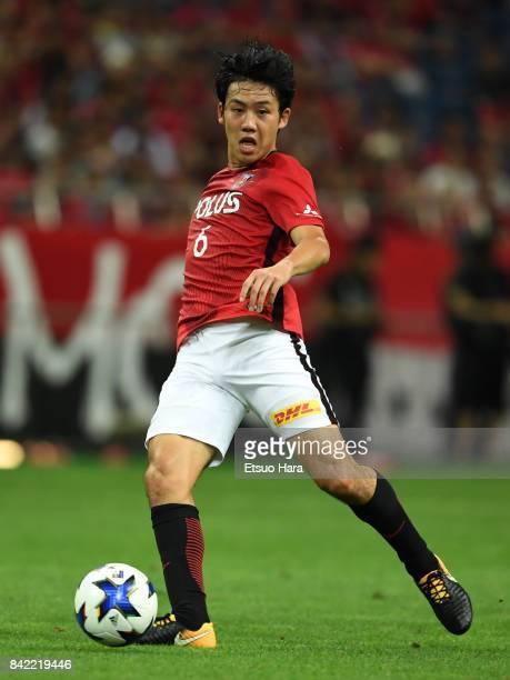 Wataru Endo of Urawa Red Diamonds in action during the JLeague Levain Cup quarter final second leg match between Urawa Red Diamonds ant Cerezo Osaka...