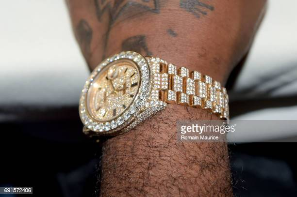 Watch at Haute Living Celebrates Rick Ross at Marion Miami on June 1 2017 in Miami Florida
