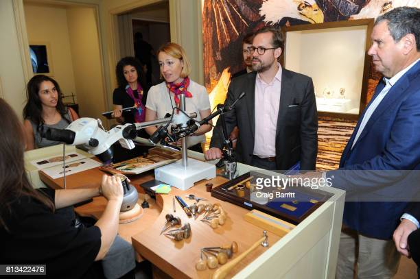 Watch Journal hosts an exclusive private tour of Patek Philippe's The Art Of Watches at Cipriani 42nd Street on July 12 2017 in New York City