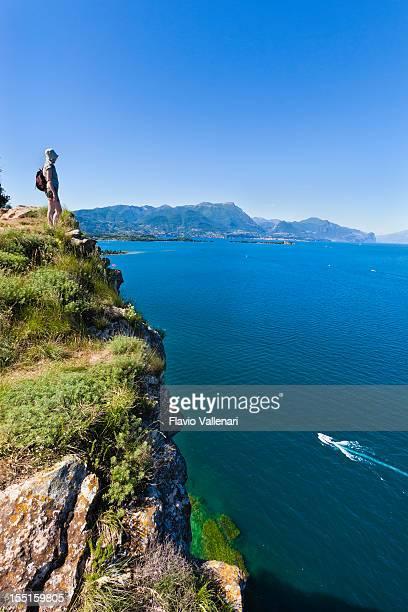 Guarda Lago di Garda dall'alto