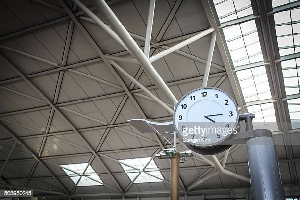 a watch - incheon airport stock photos and pictures