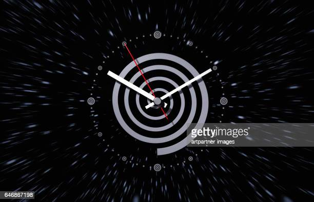 watch symbolizing time and space - time travel stock pictures, royalty-free photos & images