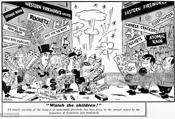 ' Watch the children ' [A timely warning of the dangers of home made fireworks has been given in the Annual Report by the inspector of explosives...