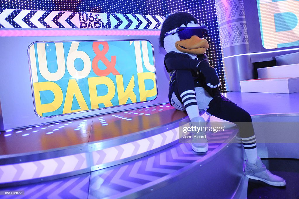 Watch The Duck visits BET's '106 & Park', at BET Studios on March 4, 2013 in New York City.