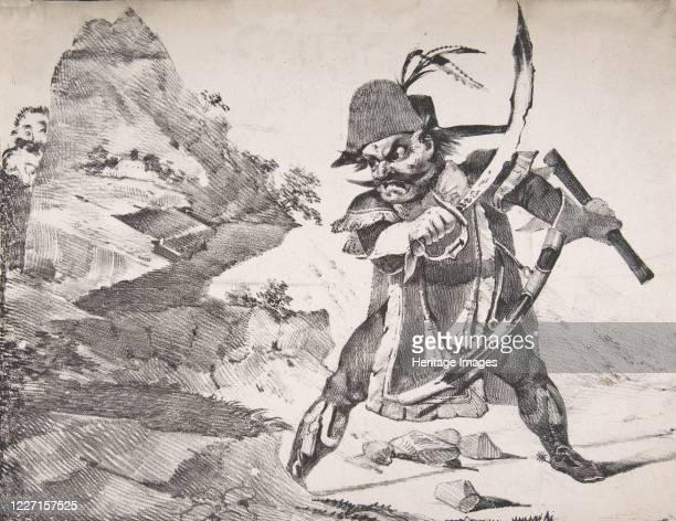 Watch Your Rear 1822 Artist Eugene Delacroix