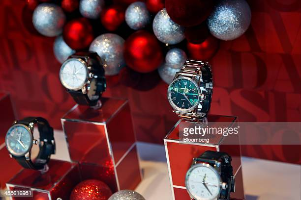 19 Inside A Mont Blanc Store As Luxury Online Sales Mix