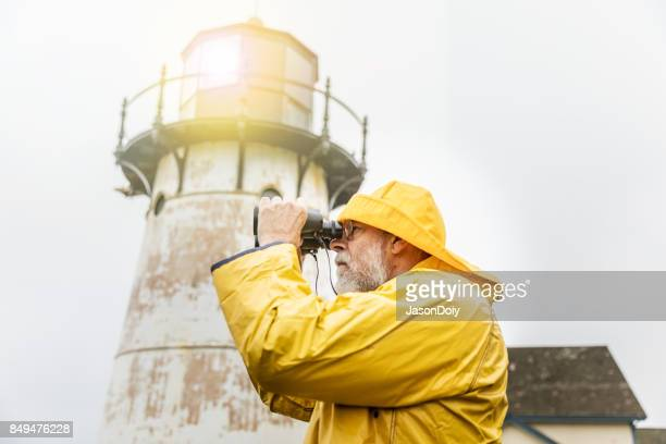 Watchful Eye of the Lighthouse Keeper