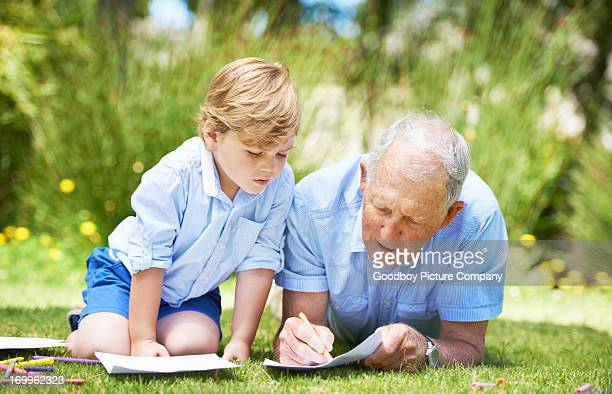 old man laying down drawing stock photos and pictures getty images