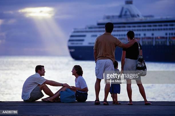 Watching Cruise Ship