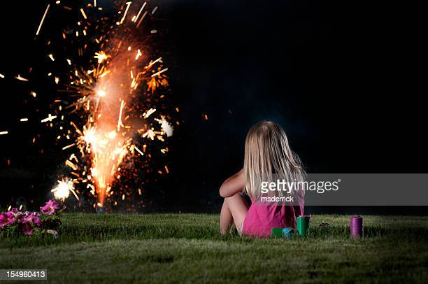 Regarder les feux d'artifice