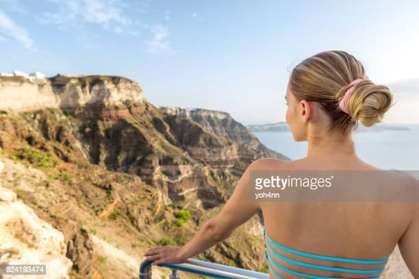 Griechischen Berg beobachten