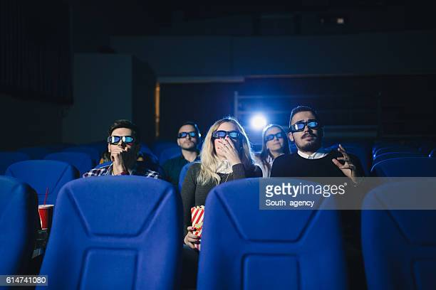 watching horror movie - blue film images stock photos and pictures