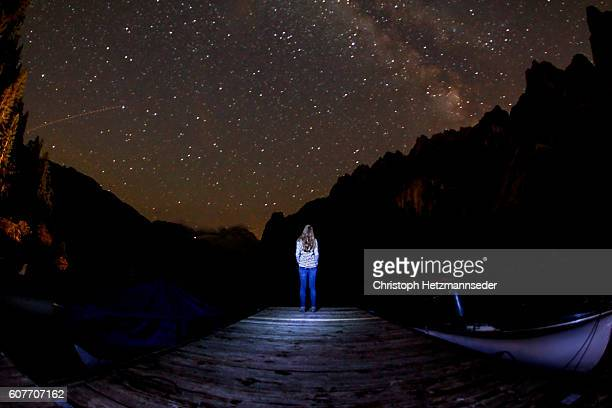 Watching night sky