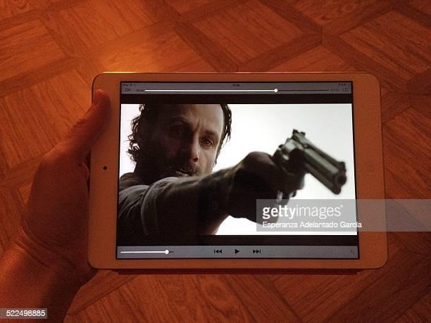 Watching series TV on the iPad
