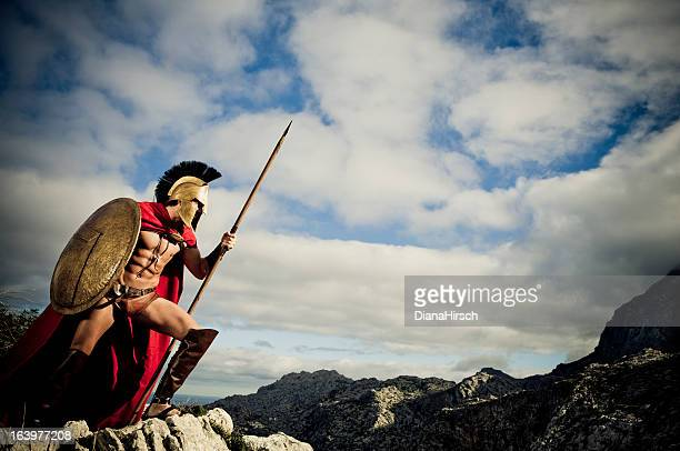 watching spartan - sparta stock photos and pictures