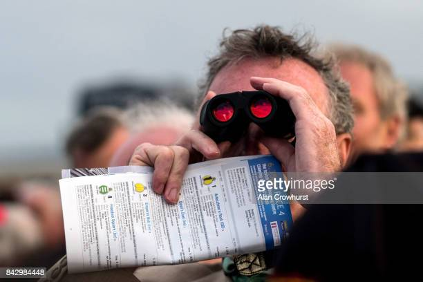 Watching the action at Laytown racecourse on September 5 2017 in Laytown Ireland Laytown racecourse is a horse racing venue run on the beach in...