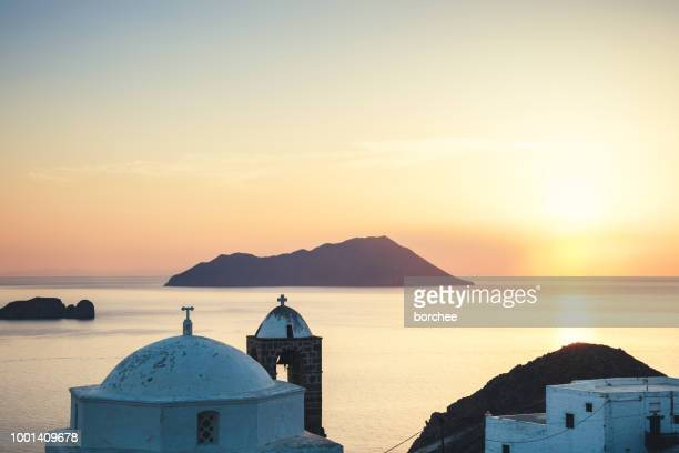 Watching The Sunset In Milos