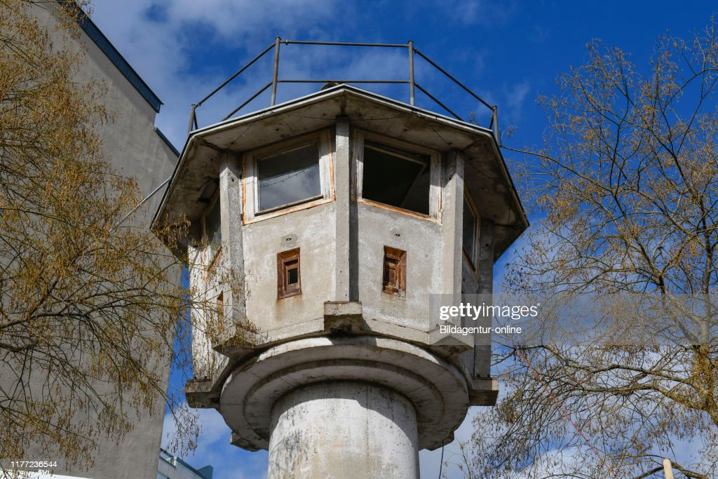 Gdr Watch Tower Erna S Berger Street Potsdam Place Zoo Berlin News Photo Getty Images