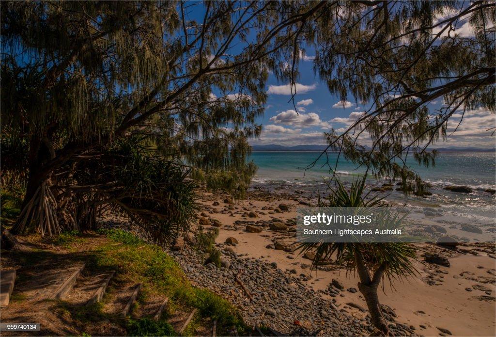 Wategos beach and coastline at Byron Bay, New south Wales, Australia. : Stock-Foto