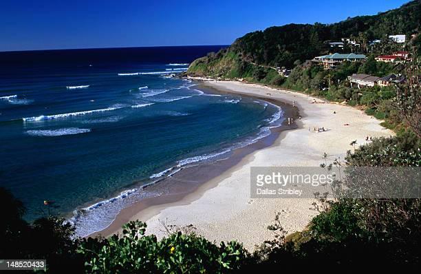 Wategos Beach.