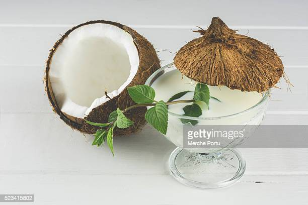 Water and coconut milk
