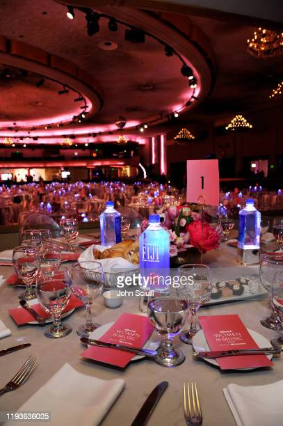 Water and JNSQ at Billboard's Women In Music 2019 on December 12, 2019 in Los Angeles, California.