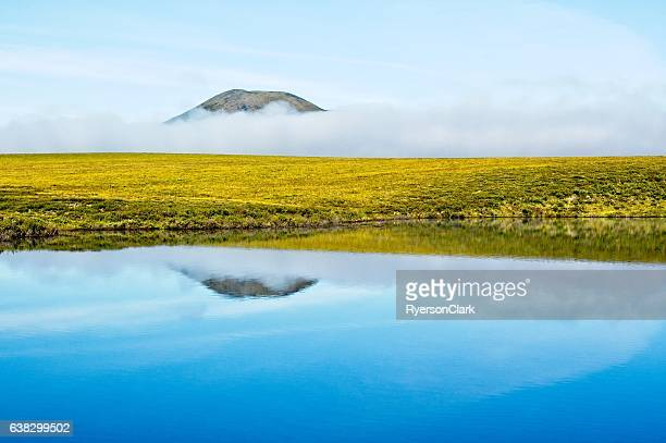 Water and mist in Canada's arctic, Yukon Territory.