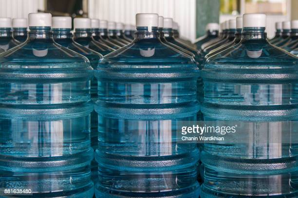 water bottle - water cooler stock photos and pictures