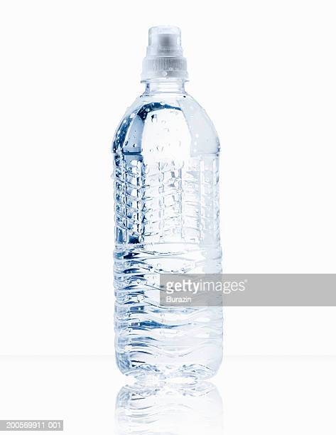 Water bottle, white background