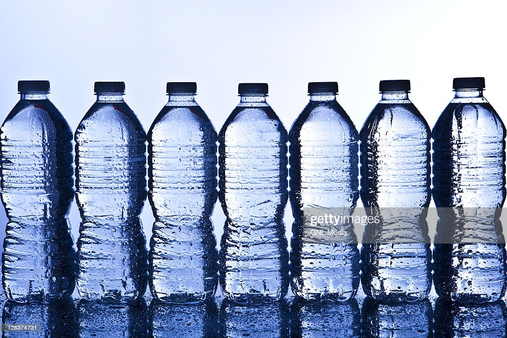 Water Bottles Recycling : Stock Photo