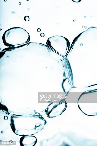 Water bubbels Macro achtergrond
