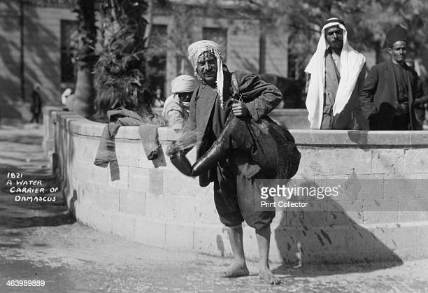 A water carrier in Damascus Syria c1920sc1930s