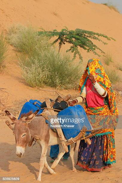water carrier - pakistani culture stock photos and pictures