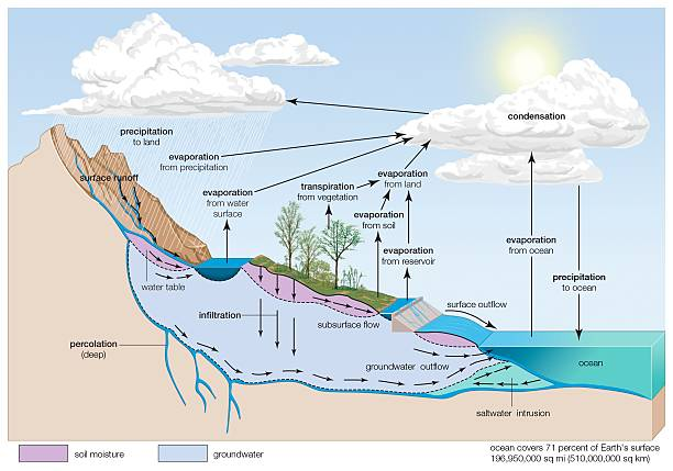 Water cycle pictures getty images water cycle ccuart Image collections