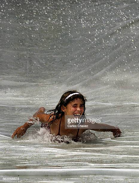 Water day at the Thousand Oaks Community Center's Summer Camp where the kids used everything from hoses buckets and water balloons to get wet on a...