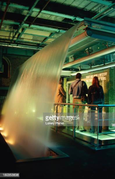 Water display in Guinness Storehouse.