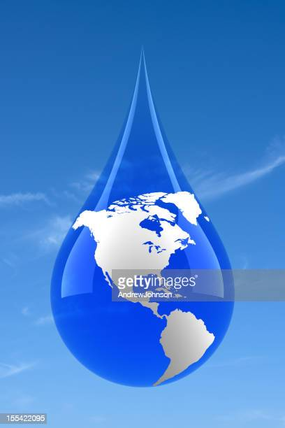 Drop mundo agua