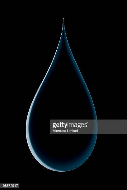 water drop made from a single sheet of paper - microzoa stock pictures, royalty-free photos & images