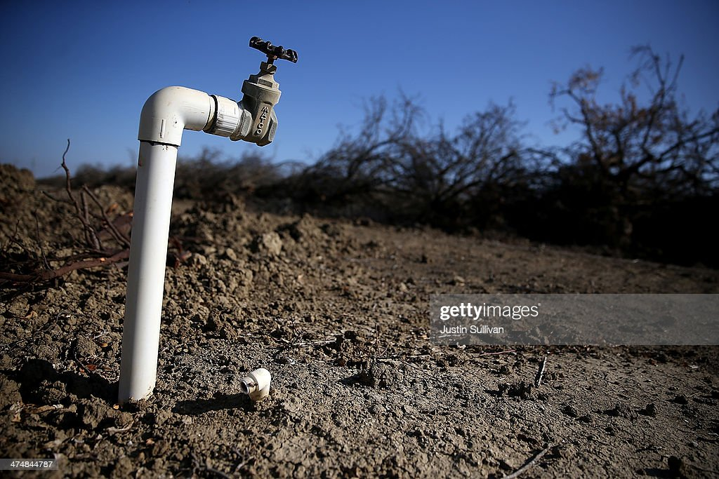 Statewide Drought Forces Californians To Take Drastic Measures For Water Conversation : News Photo