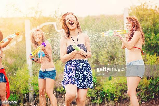 Bataille d'eau de loisirs