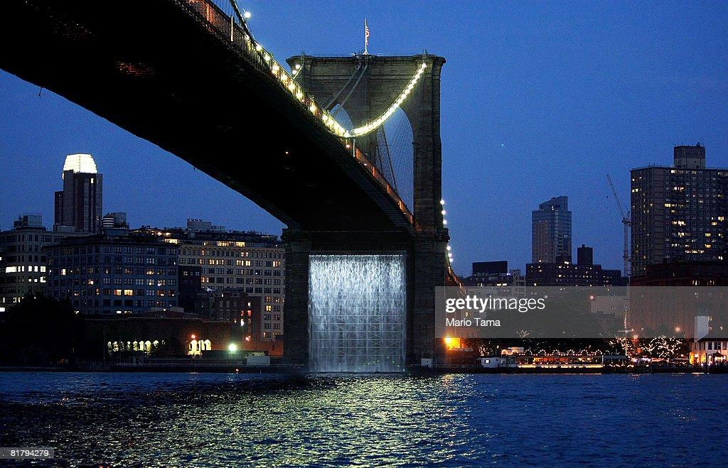 Photo Of The New York City Waterfalls Ny United States