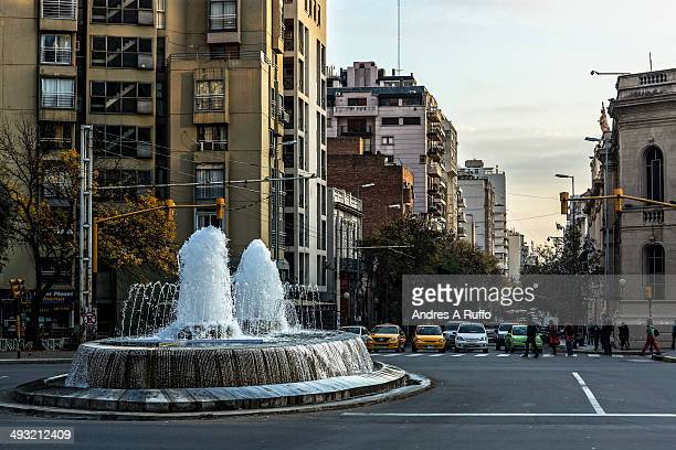 CONTENT] Córdoba Argentina April 28 2014 Water Fountain dancers called Forgiveness by the location that was assigned at the intersection of San Juan...
