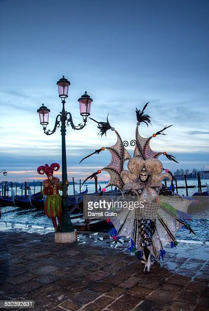 Water Front San Marco Square, Venice Carnival