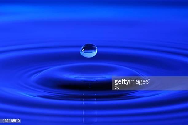 Wasser in Blau