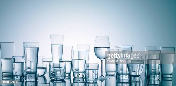 water in glasses - fragility stock pictures, royalty-free photos & images