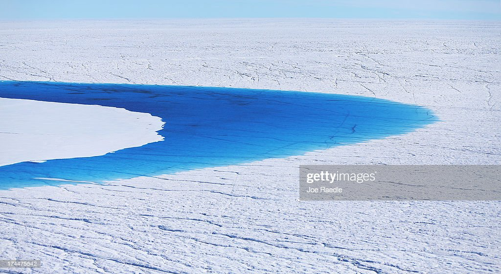 Water is seen on part of the glacial ice sheet that covers about 80 percent of the country is seen on July 17, 2013 on the Glacial Ice Sheet, Greenland. As the sea levels around the globe rise, researchers affilitated with the National Science Foundation and other organizations are studying the phenomena of the melting glaciers and its long-term ramifications. The warmer temperatures that have had an effect on the glaciers in Greenland also have altered the ways in which the local populace farm, fish, hunt and even travel across land. In recent years, sea level rise in places such as Miami Beach has led to increased street flooding and prompted leaders such as New York City Mayor Michael Bloomberg to propose a $19.5 billion plan to boost the citys capacity to withstand future extreme weather events by, among other things, devising mechanisms to withstand flooding.